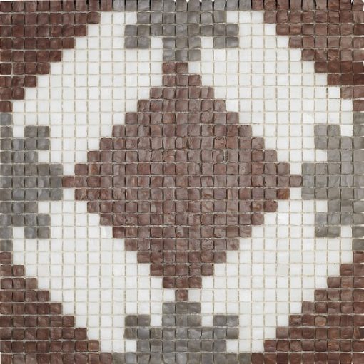 mosaique alhambra marron
