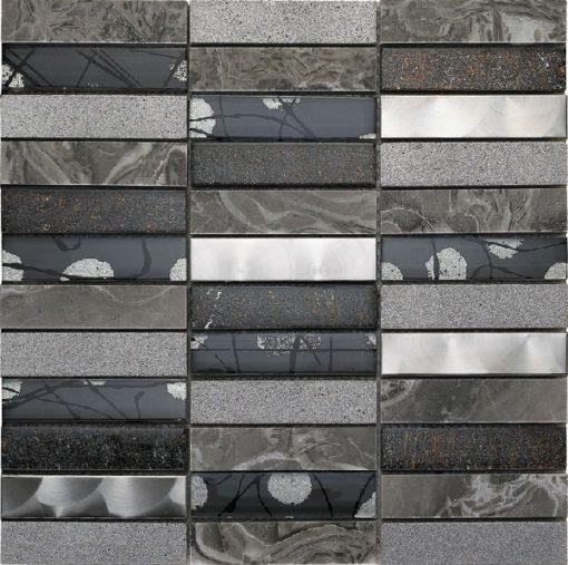 mosaique artist gris