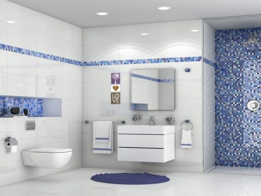 mosaique carnaval blue