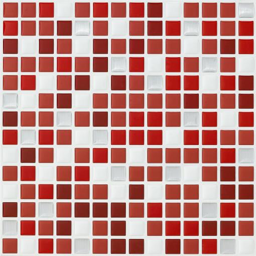 mosaique dados rouge