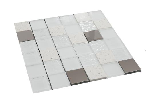 mosaique elements blanc