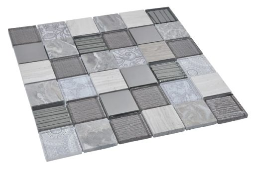 mosaique elements gris