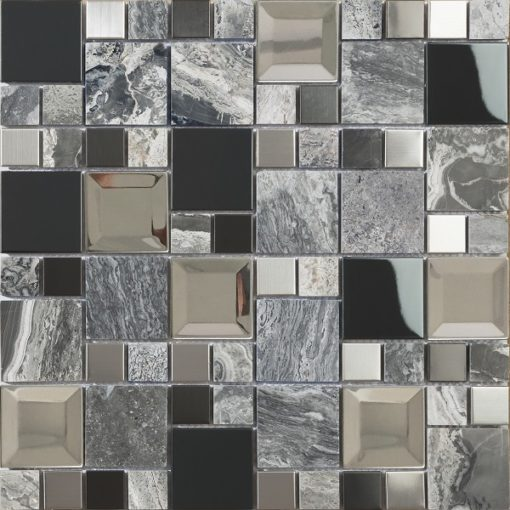 mosaique kaos grey