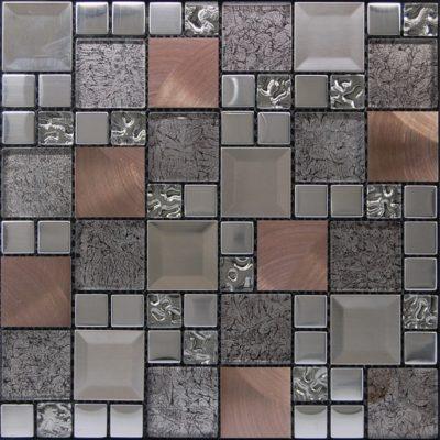 mosaique kaos silver