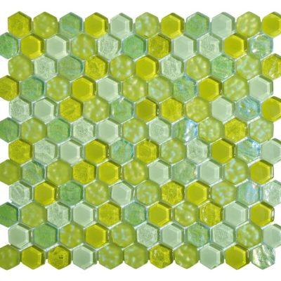 mosaique living vert
