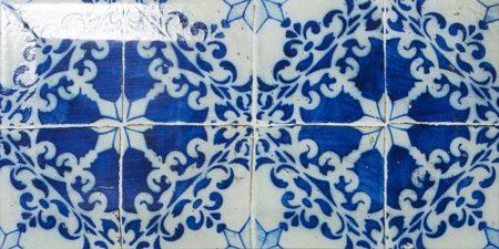 mosaique metro bevel sub bleu