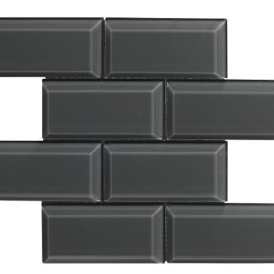 mosaique bevel metro graphite