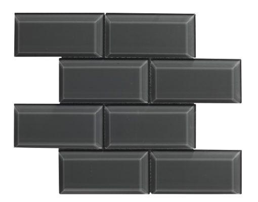 mosaique bevel metro graphite