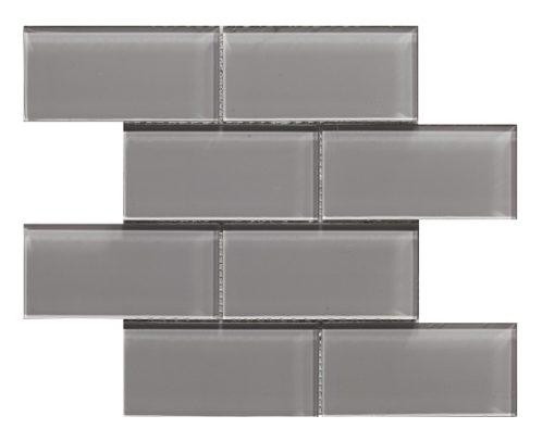 mosaique metro gris