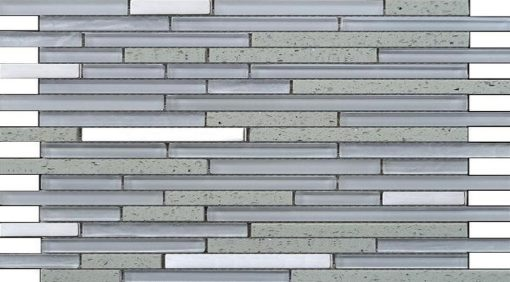 mosaique quartz blanc