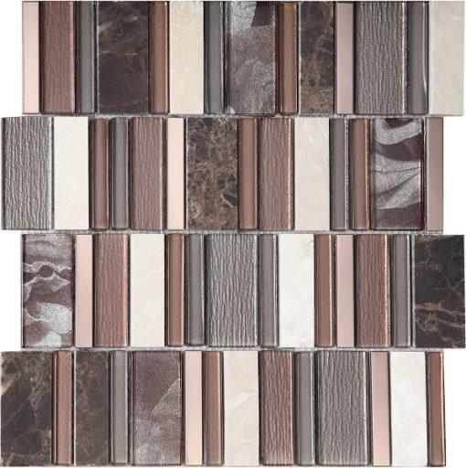 mosaique stripes cinnamon