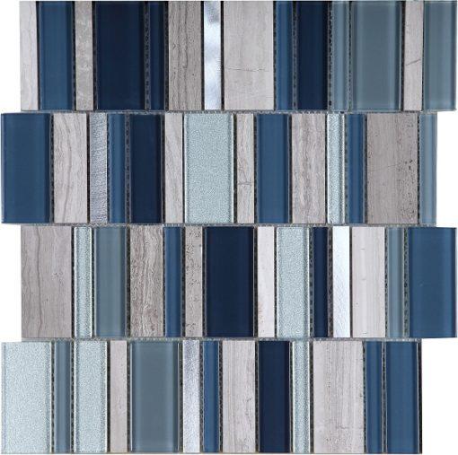 mosaique stripes cold