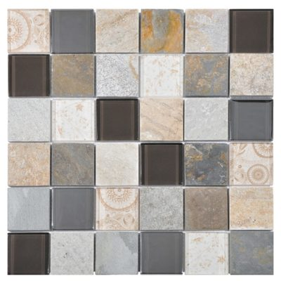 mosaique elements beige