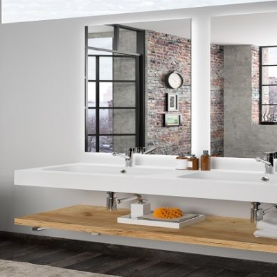 Salle de bain serie spirit 1400
