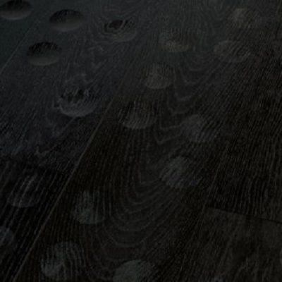 parquet chêne noir relief