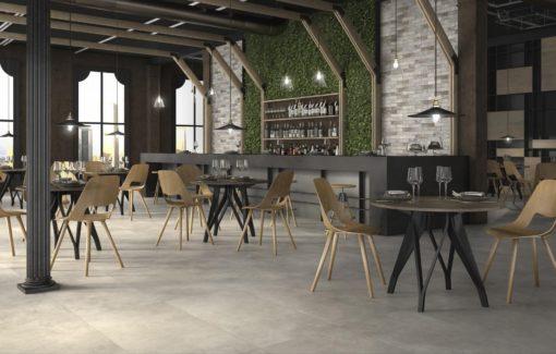 carrelage intérieur stile urbano cemento