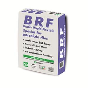 Mortier colle flexible prise rapide BRF Benfer Rapid Flexible