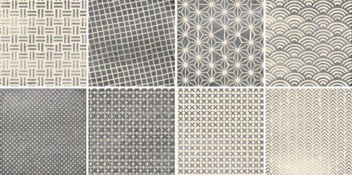 faïence gego couleur gris dimension 20x20 cm
