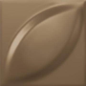 faïence mandorla bronze