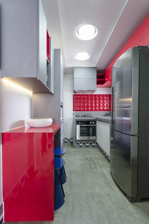 faïence red pad couleur rouge format 30x60 cm