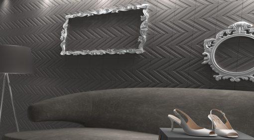 faïence transverse 3 graphite