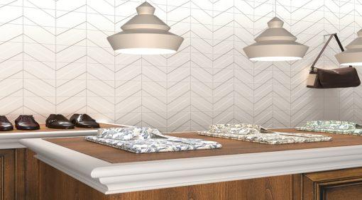 faïence transverse 4 clay aspect ciment couleur blanc
