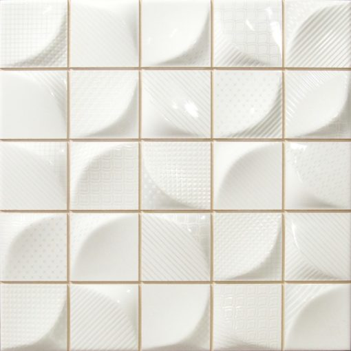 faience 3d white