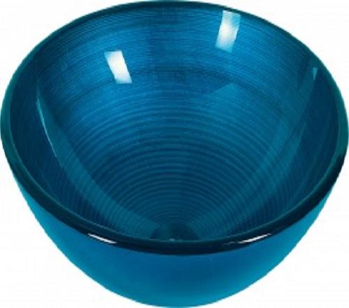 lavabo agadir blue en verre