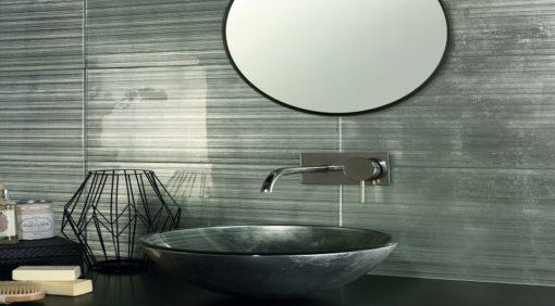 lavabo en verre agadir silver