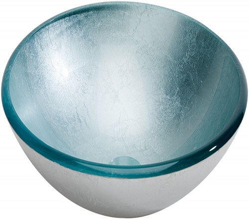 lavabo pan de plata en verre