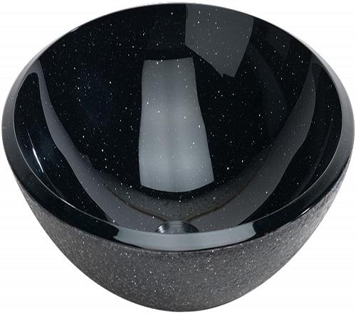 lavabo redondo cosmic en verre