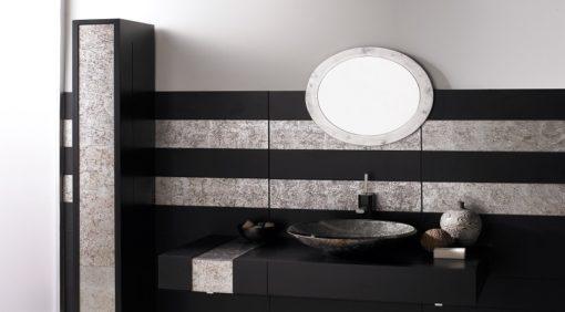 lavabo redondo silver