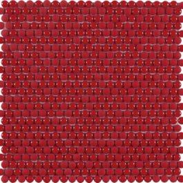 mosaïque dots red