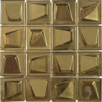 mosaïque gilded matériaux verre couleur or .