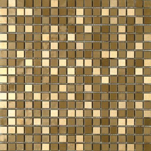 mosaïque metalic gold