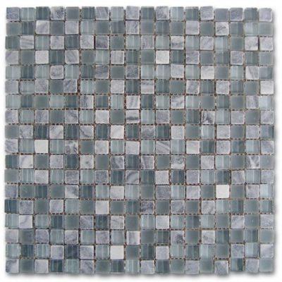 mosaïque mosaico grey-glass