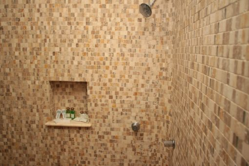 mosaïque mosaico travertino panfilia