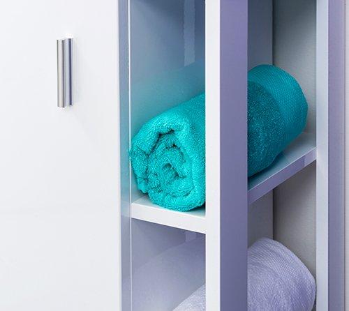 étagère meuble de salle de bain lixy