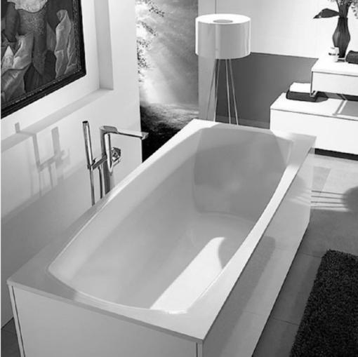 baignoire rectangulaire 1800x800mm en Quaryl MY ART DUO