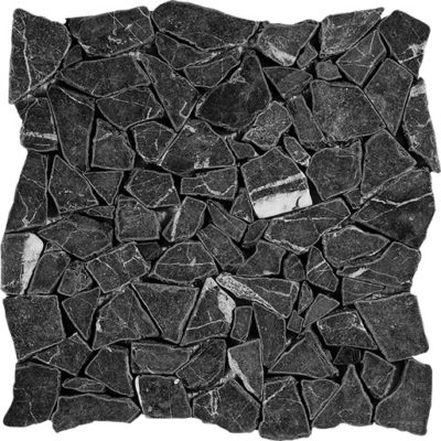 Mosaïque Black Pearl Marble DRV-PS-11