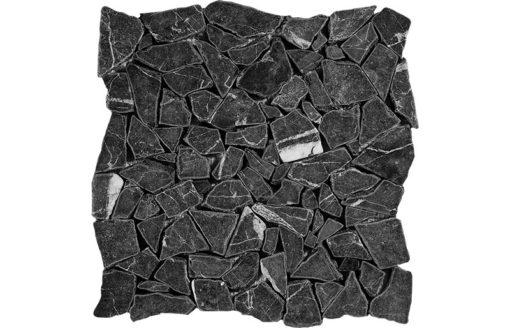 Mosaïque Black Pearl Marble DRV-PS-11