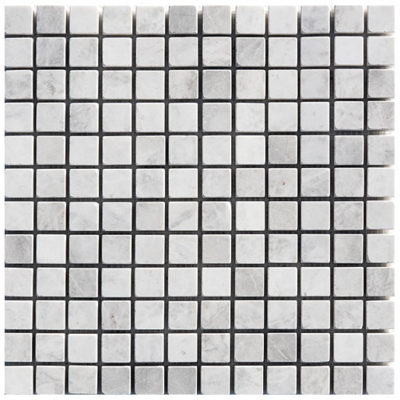 Mosaïque Royal White Marble 23x23mm Brick
