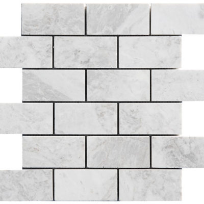Mosaïque Royal White Marble 48x100mm Brick