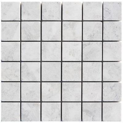 Mosaïque Royal White Marble 48x48mm Brick