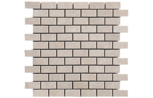 Mosaïque Tapisa Marbre 23x48mm Brick
