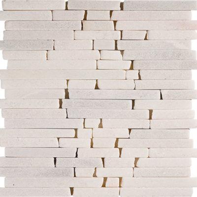 Mosaïque Usak Marbre blanc DRV-RSM12-09