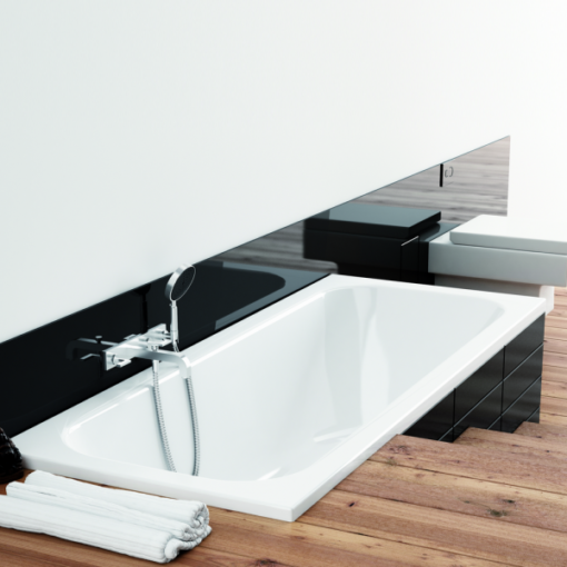 baignoire à encastrer acrylique 160x70cm filon