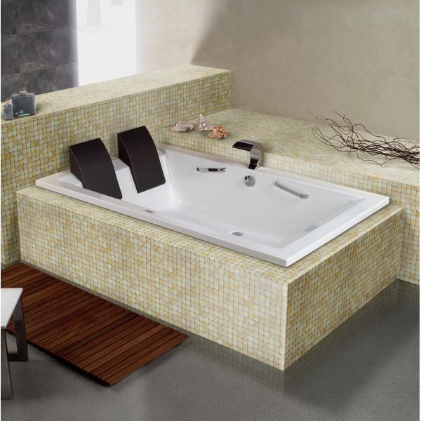 baignoire 2 places acrylique de 200x120cm elite tendance. Black Bedroom Furniture Sets. Home Design Ideas