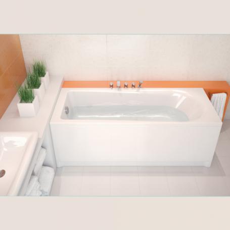 baignoire acrylique rectangulaire 160x70cm flavia