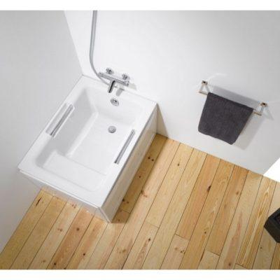 baignoire sabot acrylique blanc shortline